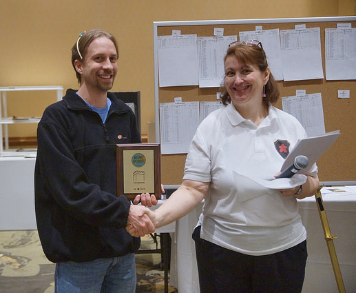 GM Amy Rule awards first place to Rob Murray